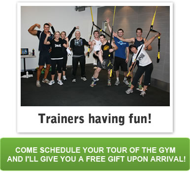 Schedule your tour of the gym here!